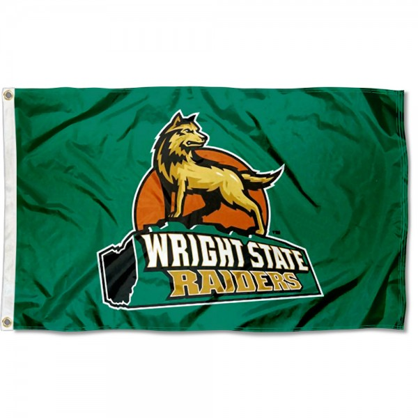 WSU Raiders Logo 3x5 Foot Flag