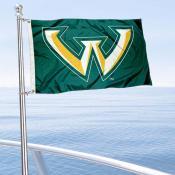 WSU Warriors Boat Nautical Flag