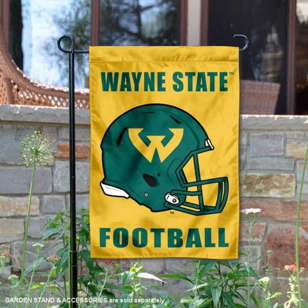WSU Warriors Football Garden Flag