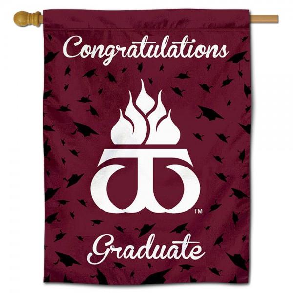 WTAMU Buffaloes Graduation Banner