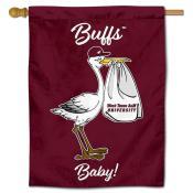 WTAMU Buffaloes New Baby Banner
