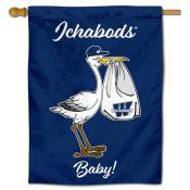 WU Ichabods New Baby Banner