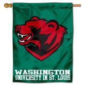 WUSTL Bears Bear Head House Flag