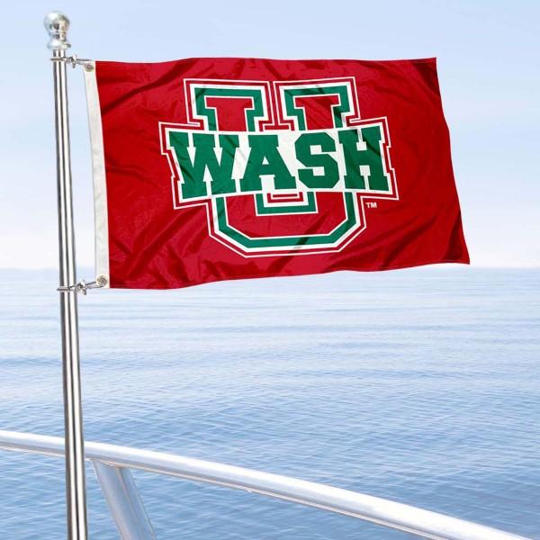 WUSTL Bears Boat Nautical Flag
