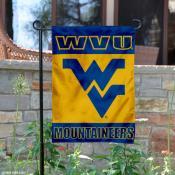 WVU Mountaineer Garden Banner