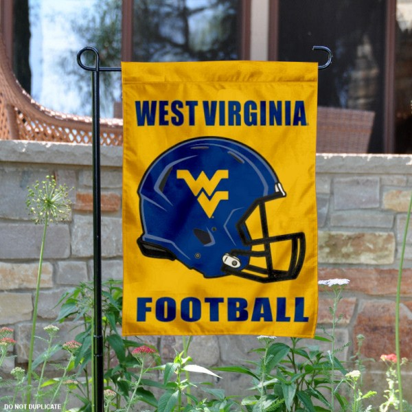 WVU Mountaineers Football Garden Flag