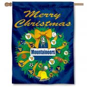 WVU Mountaineers Holiday Flag