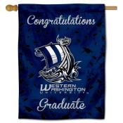 WWU Vikings Graduation Banner