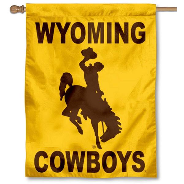 WYO Cowboys House Flag