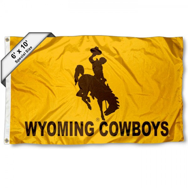 Wyoming Cowboys 6x10 Foot Flag