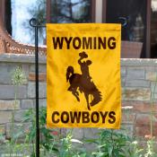 Wyoming Cowboys Garden Flag