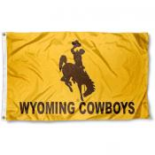 Wyoming Cowboys Logo Flag