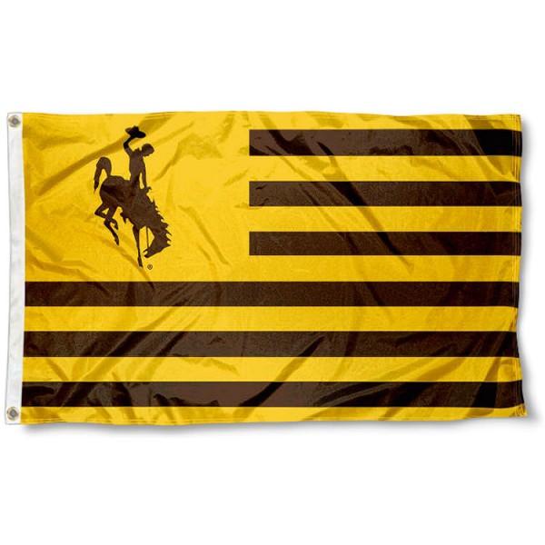 Wyoming Cowboys Nation Flag