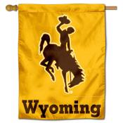 Wyoming Cowboys Polyester House Flag