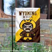 Wyoming Cowboys Yuru Chara Tokyo Dachi Garden Flag
