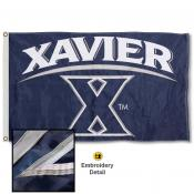 Xavier Musketeers Appliqued Nylon Flag