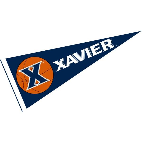 Xavier Musketeers Basketball Pennant