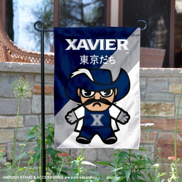Xavier Musketeers Yuru Chara Tokyo Dachi Garden Flag
