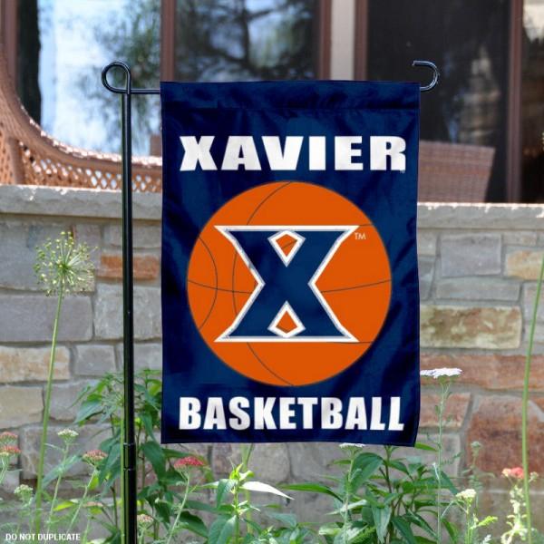 Xavier University Basketball Garden Flag