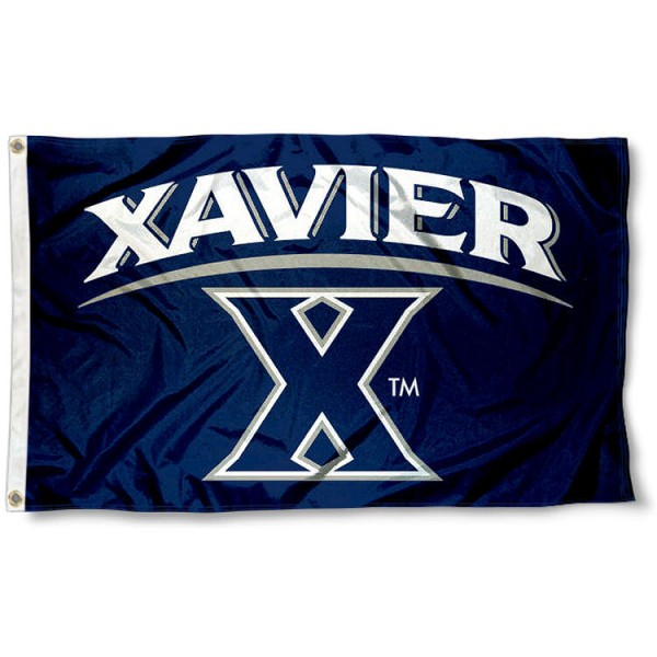 Xavier University Blue Flag