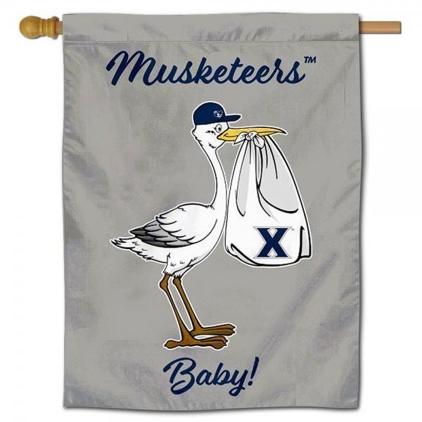 Xavier University New Baby Banner