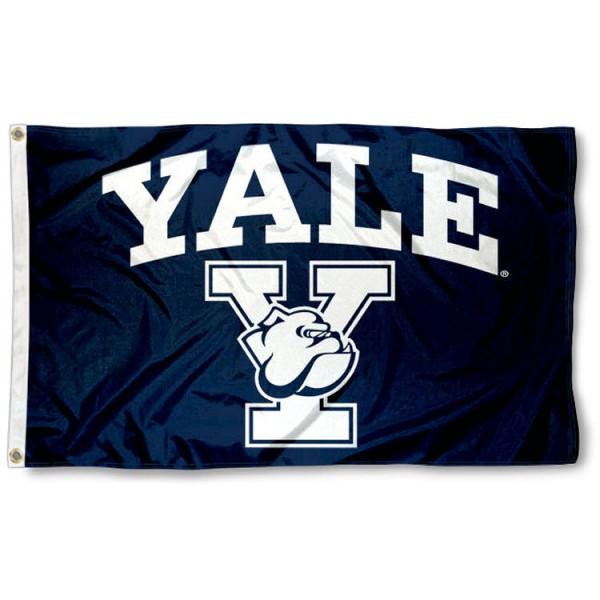 Yale Bulldogs Athletic Insignia 3x5 Foot Flag
