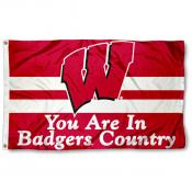 You're in Badgers Country Flag