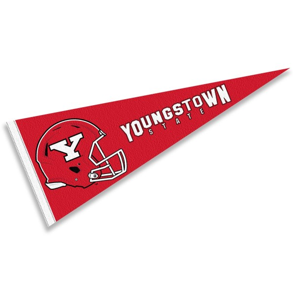 Youngstown State University Football Helmet Pennant