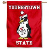 Youngstown State University Penguins House Flag