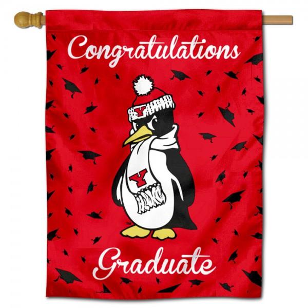 YSU Penguins Graduation Banner