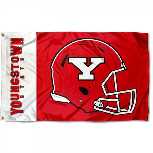 YSU Penguins Helmet Flag