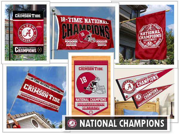 University of Alabama Flags and Banners