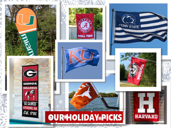 College Flags Banners Gifts