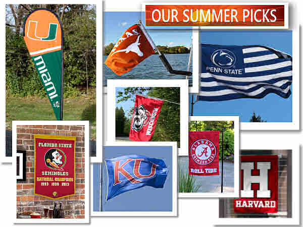 College Flags and Banners