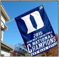 Duke Blue Devils Champs Flags and Banners
