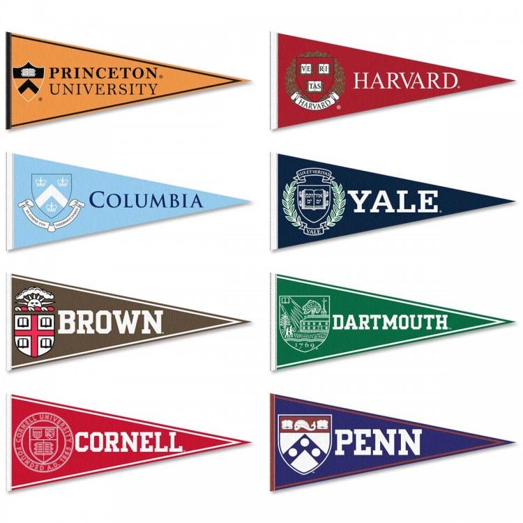Ivy League Felt Pennant Set
