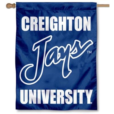 Creighton Jays New Logo House Flag Banner