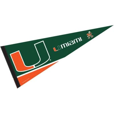 Miami Canes 6/' x 10/' Large Flag