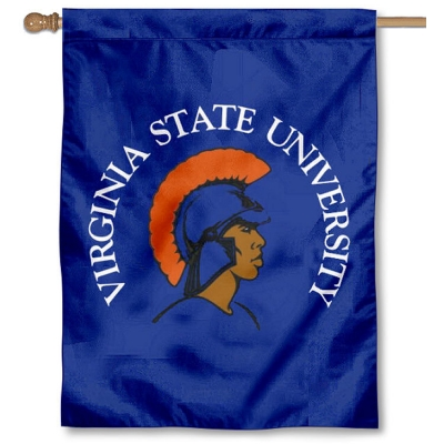 College Flags and Banners Co Virginia State University Trojans 3x5 Flag