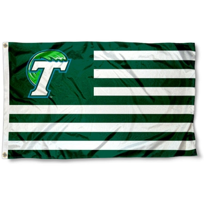 Tulane Green Wave Angry Wave Flag College Flags and Banners Co