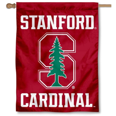 Stanford Cardinal Banner and Scroll Sign