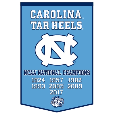 UNC Tar Heels National Champs Garden Flag and Yard Banner