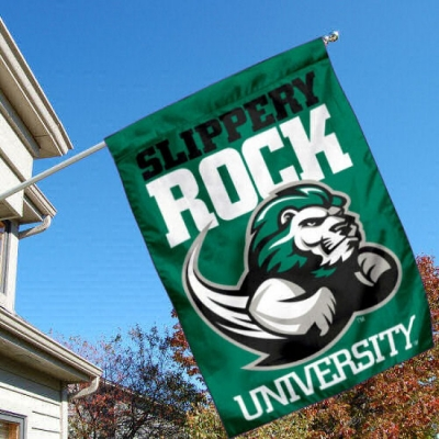 Slippery Rock Garden Flag College Flags and Banners Co