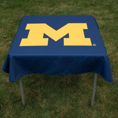 Prime Tablecloth For Michigan Wolverines Your College Table Covers Gmtry Best Dining Table And Chair Ideas Images Gmtryco