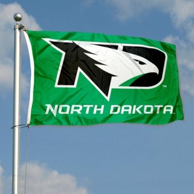 Nation University of North Dakota UND Fighting Hawks NoDak 3 x 5 feet Flag
