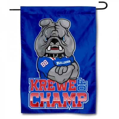 College Flags and Banners Co Louisiana Tech Bulldogs New Logo Garden Flag