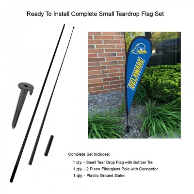 College Flags and Banners Co Delaware Blue Hens Garden Flag
