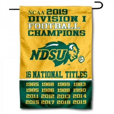 2013 NDSU National Champs Yard Flag and Garden Banner