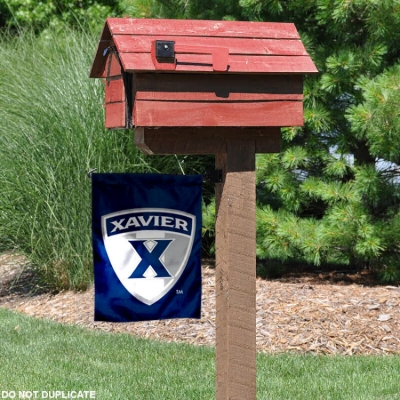 Xavier Musketeers Garden Flag and Yard Banner