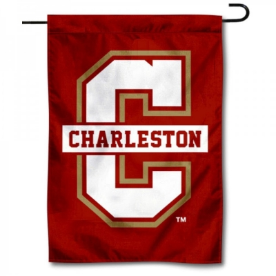 various colors 4b3bf cd00b College of Charleston Cougars Garden Flag and Garden Flags ...